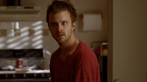 Aaron Paul and Krysten Ritter as Jesse Pinkman and Jane Margolis on Breaking Bad S02E12 Phoenix