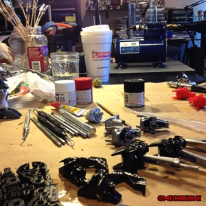 MZ process 05 process the parts